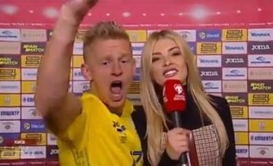 City-speler door het dolle heen na kwalificatie met Oekraïne: Zinchenko laat zich helemaal gaan voor tv