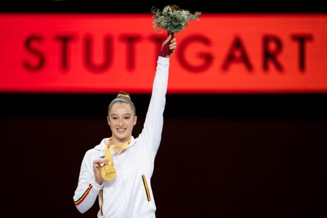 """WK-goud levert Nina Derwael slechts schamele premie op, maar daar maalt ze niet om: """"Ik doe dit uit liefde voor de sport"""""""