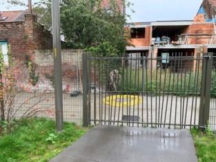 Tweede toegang tot park laat op zich wachten door aanslepende bouwwerf