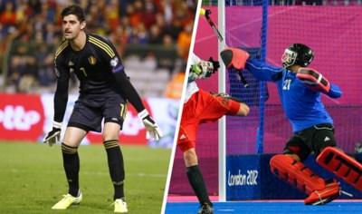 """Petr Cech gaf het goeie voorbeeld, maar wat als Thibaut Courtois doelman wordt van de Red Lions? """"Hij zou geen mal figuur slaan"""""""