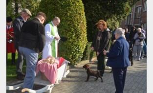 FOTO en VIDEO. Dieren worden gewijd tijdens Sint-Hubertusviering