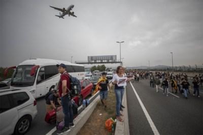 """Barcelona maakt zich op voor nieuwe protestacties: """"Grote kans dat drukke punten en snelwegen straks weer worden afgesloten"""""""