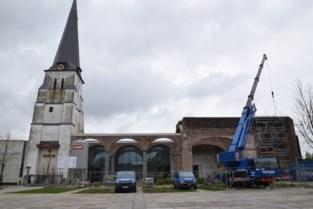 Oude kerkbogen zijn bijna hersteld en dat is goed nieuws voor wie iets wil organiseren op dorpsplein