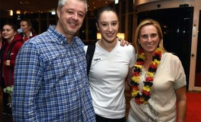 Nina Derwael wordt gehuldigd in Sint-Truiden op 26 oktober
