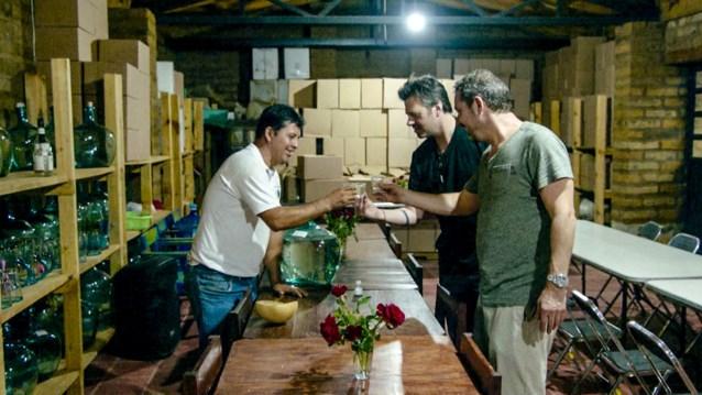 "Sergio Herman en Axel Daeseleire proeven ""een mier met honing aan haar gat"""