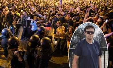 """Protest in Spanje gaat niet liggen: """"Maandag pakten we de luchthaven, vandaag de straten. En morgen? Dat zien we dan wel"""""""