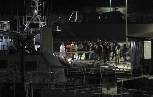 Italiaanse kustwacht brengt 180 migranten naar Lampedusa in plaats van Malta