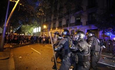 Opnieuw zware protesten in Catalonië tegen veroordeling separatisten, Madrid hekelt geweld