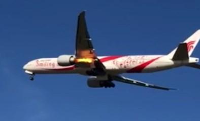 """Vliegtuigmotor schiet in brand vlak na opstijgen: """"Ik hoorde een oorverdovende knal"""""""
