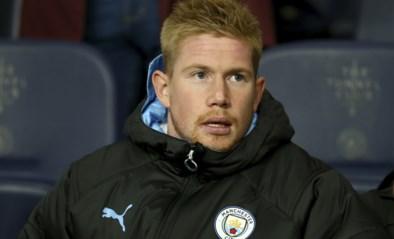 Goed nieuws voor Kevin De Bruyne (en Manchester City): Rode Duivel kan zaterdag al comeback maken
