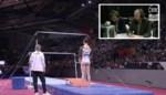 """De Ideale Wereld zet Nina Derwael tijdens haar turnfinale in de schaduw van haar vriend: """"Kijk juffrouw Voet eens toertjes draaien"""""""