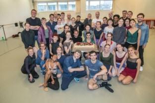Ballet Vlaanderen trakteert dansers op taart