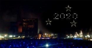 Primeur voor ons land: deze stad vervangt vuurwerk op oudejaarsavond door lichtshow met drones