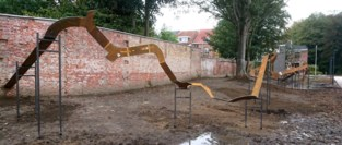 Kris De Plecker realiseert monumentaal kunstwerk in Mortsel