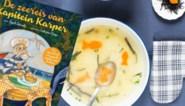 GETEST. Walviscake en oceaansoep, gezonde gerechten voor kinderen die van een verhaaltje houden