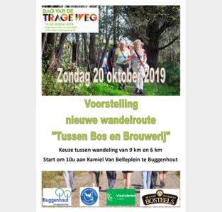 Nieuwe wandelweg verbindt brouwerij met bos
