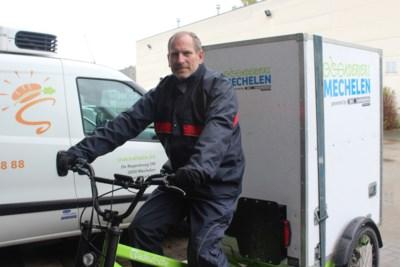 """Fietskoeriers hebben almaar meer werk in Mechelen: """"De cargofietsen zijn ideaal na de invoering van de autoluwe zone"""""""