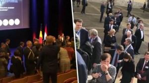 Brandalarm verstoort toespraak Di Rupo tijdens Luxemburgs staatsbezoek: zaal ontruimd, ook royals moeten vertrekken