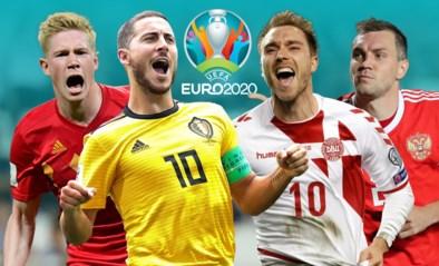 Rode Duivels ontlopen voorlopig alle toplanden en komen in groep met… Rusland op EURO 2020