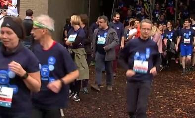 VIDEO. Meer dan tweeduizend personeelsleden van KU Leuven doen mee aan University Trail
