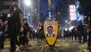 China verbiedt export van zwarte T-shirts en paraplu's naar Hongkong