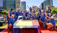 """Belgen winnen voor het eerst race voor zonnewagens: """"Nederlanders zijn waarschijnlijk over limiet gegaan om ons voor te blijven"""""""