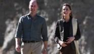 Zware storm verhindert landing van vliegtuig Britse prins William en Kate