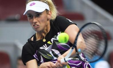 """Elise Mertens ook verrast door comeback van Clijsters: """"Ik heb Kim al zien trainen, dat zag er verdomd goed uit"""""""