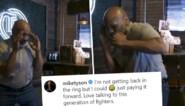 Bokslegende Mike Tyson is de 50 gepasseerd, maar kan nog steeds z'n mannetje staan