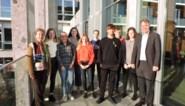 Acht leerlingen werken voor de stad Deinze