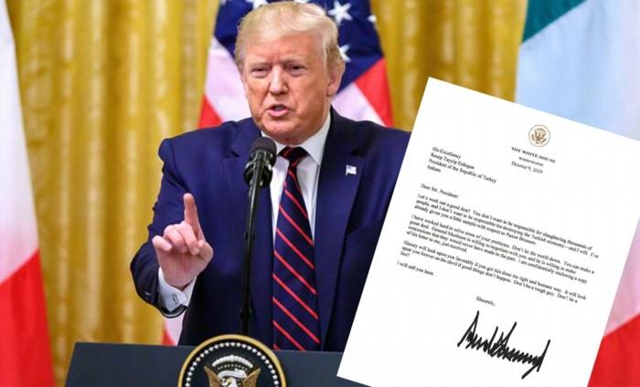 """""""Geachte meneer de president: wees geen idioot"""": heeft Trumps stoere brief naar Erdogan (een averechts) effect gehad?"""