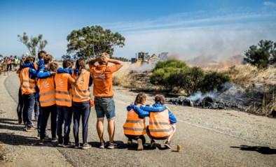 Belgische studenten winnen World Solar Challenge nadat Nederlandse zonneauto die op kop lag uitbrandt