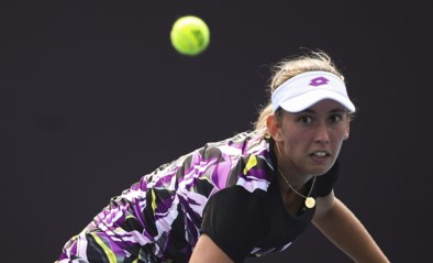 """Elise Mertens verliest in Luxemburg van Jelena Ostapenko: """"Haar service was niet goed en haar derde bal ook niet"""""""
