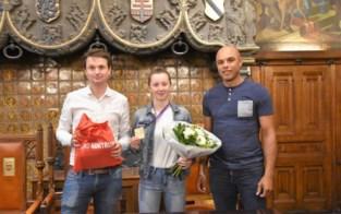Heulse wereldkampioen ontvangen op stadhuis
