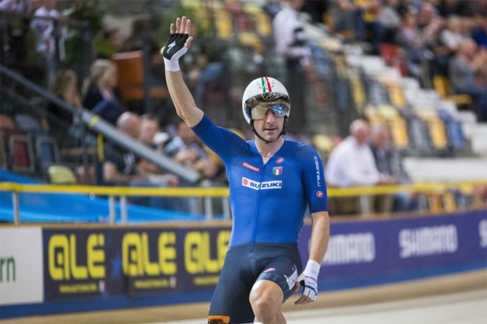 """Geen renner met drukker programma dan Elia Viviani, Europees kampioen op de weg én de piste: """"Volgend jaar ga ik voor voorjaar, Tour én Spelen"""""""