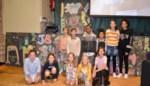 FOTO. Langste schoolbord op Werelddag tegen Armoede