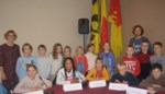 23 leden in nieuwe kindergemeenteraad