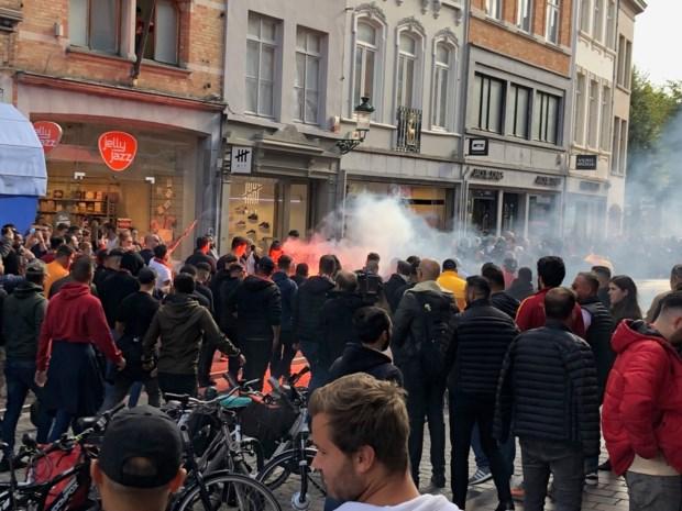 Supporters van Europese topclub mogen stadscentrum Brugge niet in (en daar heeft politie goede reden voor)