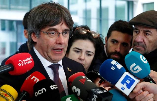Carles Puigdemont verschijnt op 29 oktober voor Brusselse raadkamer