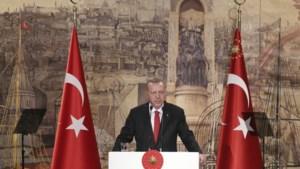 Turkse president Erdogan dreigt offensief in Syrië dinsdag te hervatten als akkoord niet gerespecteerd wordt