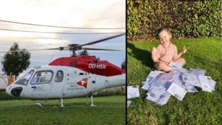 """Kleine Babette (4) wil haar redders op unieke manier bedanken: """"Zonder helikopter had ze het niet gehaald"""""""