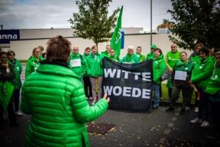 Boze verplegers en zorgkundigen komen op straat