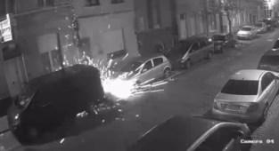 Videobeelden van granaataanslag in Guldensporenstraat vrijgegeven: parket zoekt dader uit filmpje