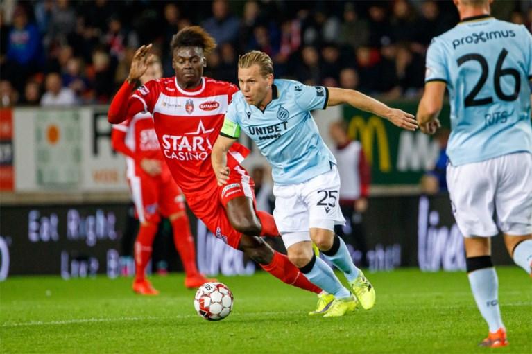 Het was niet wervelend, maar Club Brugge dient Moeskroen nog eens een thuisnederlaag toe