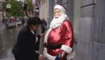 VIDEO. Ho ho ho! Kerstman is al aangekomen op de Meir