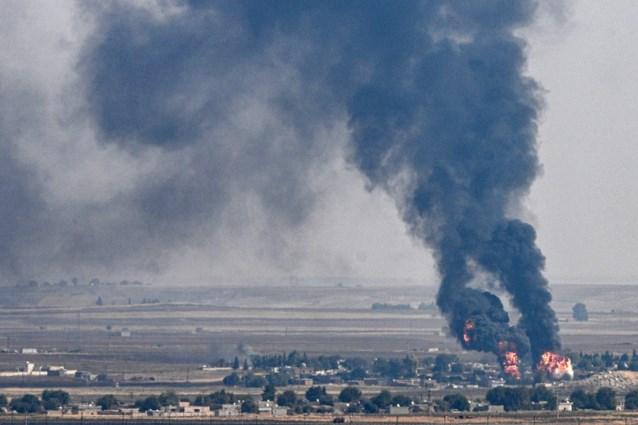 """Koerden beschuldigen Turkije van gebruik van verboden wapens: """"Zoals fosfor of napalm"""""""