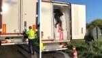 Vrachtwagenchauffeur stomverbaasd wanneer transmigranten uit zijn voertuig klimmen in Brussel