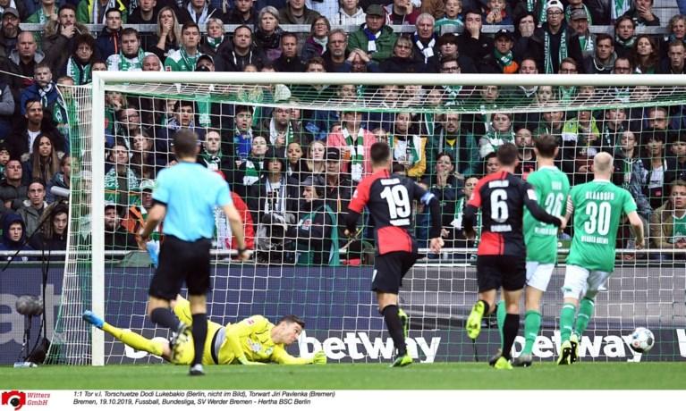 Invaller Dodi Lukebakio bezorgt zijn ploeg een punt met heerlijke sologoal, Bayern München wordt genekt door ex-speler van Lokeren