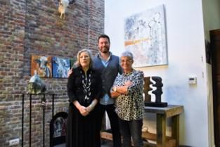Chantal (65) organiseert samen met buren tentoonstelling