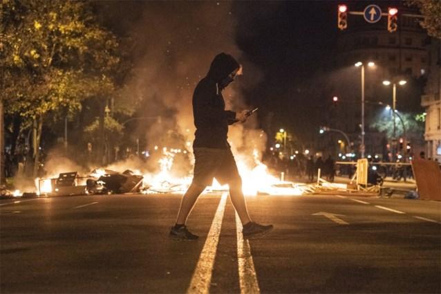 In totaal 182 gewonden bij rellen in Catalonië